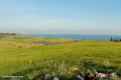 Mount-of-Beatitudes-from-west,-tb032805854-bibleplaces
